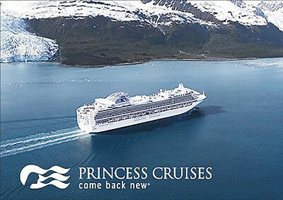 Princess Cruises Gift Card 25 50 100 - Email Delivery  - $25.00