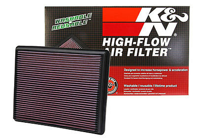 K&N 33-2129 Replacement Air Filter 1999-2018 Chevrolet Silverado Sierra 1500