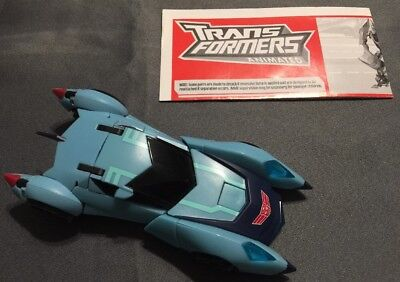 2008 Transformers Animated Deluxe Class BLURR Complete With Instructions Nice!!