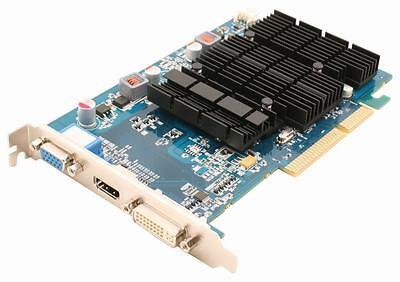 SCHEDA GRAFICA  AGP 512 Mb-ATI SAPPHIRE- HD 3450 512M_ HDMI _DDR2