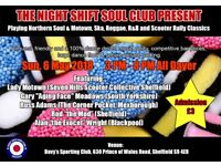 Northern Soul event hosted by Night Shift Soul Club