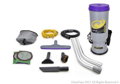 ProTeam Super CoachVac 10 QT Backpack Vacuum Cleaner