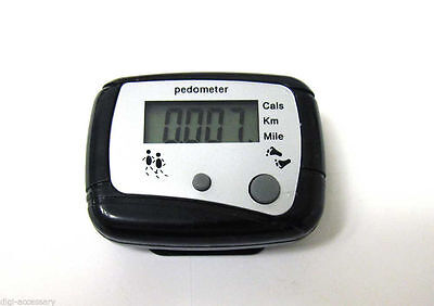 NEW LCD Run Step Pedometer Walking distance Calorie Counter