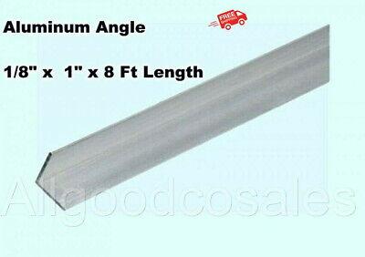 Aluminum Angle 18 X 1 X 8 Ft Length Unpolished Alloy 6061 90 Stock