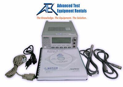 Anritsu Ml2438a Rf Power Meter Reqs Power Sensor