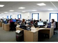 Open plan 2690 sqft serviced office to rent at Ipswich, Ransomes Europark
