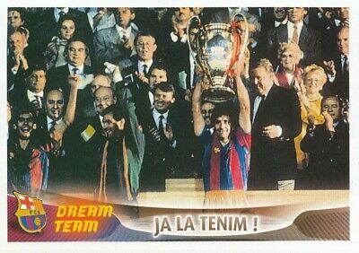 120 WINNER WEMBLEY 1992 FC.BARCELONA STICKER PANINI SUPER BARCA 2006