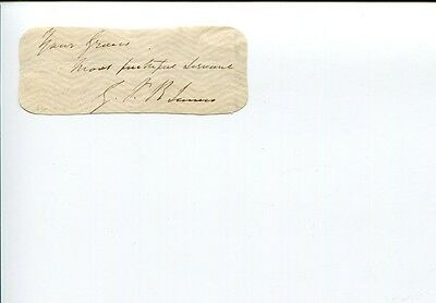 George Payne Rainsford James Brit Author Historiographer Royal Signed Autograph