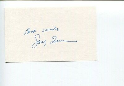 Sally Quinn Washington Post Journalist Religious Author Signed Autograph