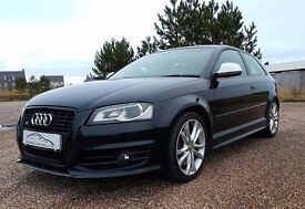 2009 Audi S3 2.0TFSI Quattro Black Facelift 3dr 1 Owner from New 118k Miles A3