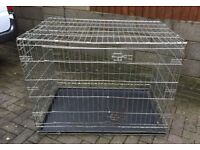 SAVIC XL TWO DOOR DOG CRATE