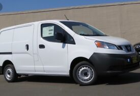 Nissan NV200, white, economical to run, good condition, ply lined.
