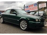 129000 MILES TURBO DIESEL 2003 JAGUAR X-TYPE XTYPE SPORT 130 BHP CREAM LEATHER 3 MONTHS WARRANTY