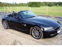 2007 BMW Z4 2.0i Roadster, Sapphire Black