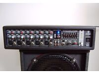 Behringer 180w Mixer Amp. 24bitFX with Feedback Detection.