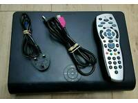 3D Sky + HD box for sale come with leads and power cable