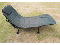 Specimen Anglers Bedchair - 6 Leg, Recliner with Pillow, Fishing, Carp
