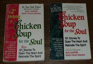 B) 2 books of Chicken Soup for the Soul