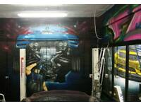 Mural artist for Graffiti, Airbrush and more ,get in touch!