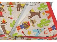 Gisela Graham Bunting - Cowboy's & Indian's - Brand New Banner/Flags - Retro Vintage Western