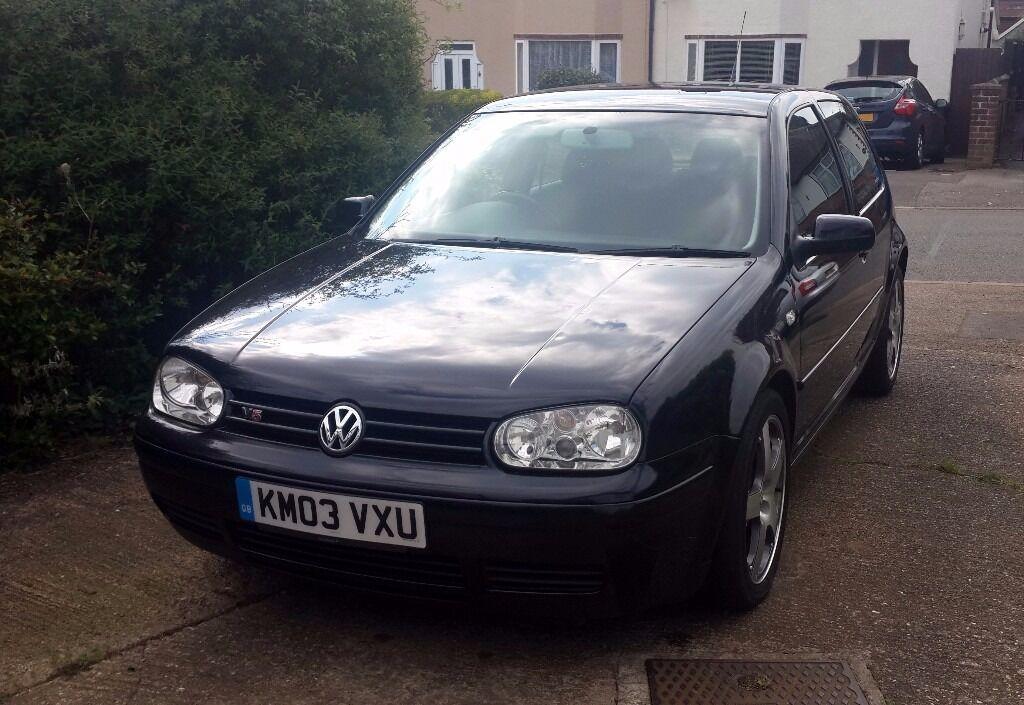2003 Black VW Golf Mk4 V5 2.3 Litre, 170bhp, 166k, FRESHLY MOT'd (Not VR6, GTi) | in Northampton ...