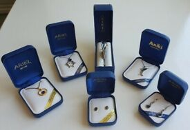 Collection of 22ct Gold (Ariki Shellfish) Jewellery. All brand new in box. (RRP Over £100)