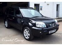 "2007 Nissan X-Trail ( xtrail ) 2.2 Dci AVENTURA "" top of the range"" 4x4 Blk/Blk leather 12 mths mot"