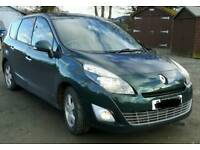May Swap - Family 7 Seater Renault Scenic Grand - Dynamique sat nav 86k 1.5dci, £3250.. may swap