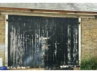 Storage unit or Large Garage