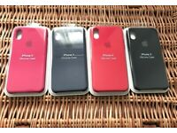 Apple iPhone X, XS Silicone Case (4 Colours)