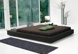 Super King Size Italian Designer Bed from Bonaldo with Memory Foam Mattress | RRP £3870