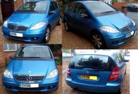 2006 (06) Mercedes-Benz A-Class A170 Special Edition, 5dr Hatchback, Petrol, Manual, Alloys (£950)