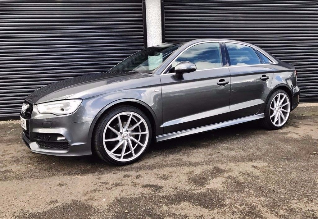 2015 audi a3 s line 1 6 tdi 105 saloon finance available in cullybackey county antrim gumtree. Black Bedroom Furniture Sets. Home Design Ideas
