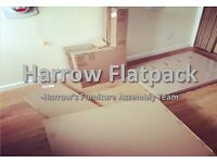 Harrow Flatpack - Harrow's Flatpack Furniture Assembly team (bed wardrobe) handyman ikea build