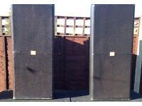 JBL725 PA Speakers