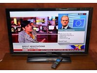 "Very nice 40"" FULL HD LED TV, fully working."