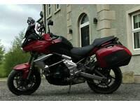 Dec 2013 Kawasaki Versys 650 Sports Tourer Motorcycle