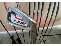 Dunlop tour full golf club set