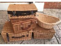 Selection Of Wicker Baskets