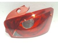 Seat Ibiza 2008 - 2012 5D Rear Tail Light Lamp Right Driver Side O/S New