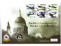 Guernsey & Isle of Man Battle of Britain 60th Anniversary Coin First Day Cover set(s)