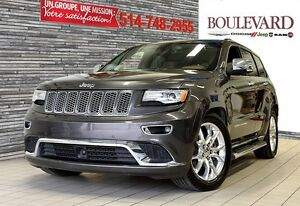 2015 Jeep Grand Cherokee SUMMIT ***DIESEL + TOIT+GPS