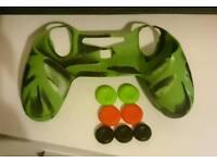 PS4 Controller Skin (Green Camo)
