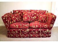 Medium 2 Seater Knole Drop Arms Sofa