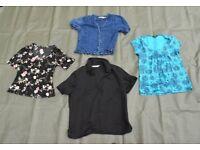 Joblot/Bundle of Four Womans Summer Blouses