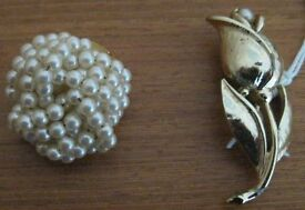 Brooches, one NEW. £1.25 - £2 each