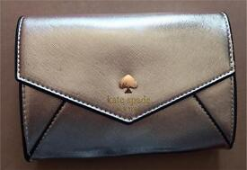 Metallic gold Kate spade style fashion envelope bag clutch