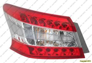 Tail Light Driver Side High Quality Nissan SENTRA 2013-2015
