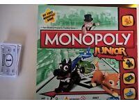 Monopoly Junior by Hasbro