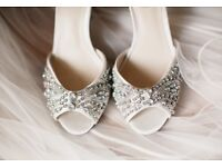 Beaded Bridal/ Wedding Shoes